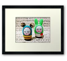 Mukti and Buki Framed Print