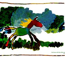the horse with the yellow mane by adam pearson