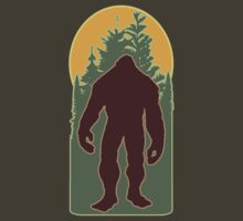 Woodsy Bigfoot by cesstrelle