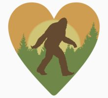 Bigfoot Heart by cesstrelle