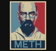 Breaking Bad Walter White Obamized Meth by Alessandro Tamagni