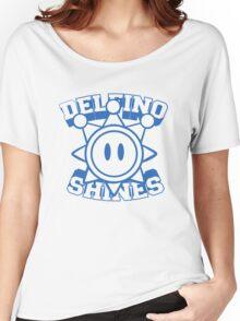 Delfino Shines - Blue Women's Relaxed Fit T-Shirt