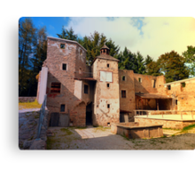 The ruins of Reichenau castle | architectural photography Canvas Print