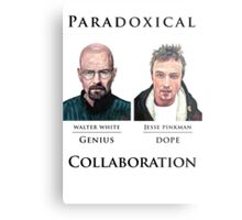 Paradoxical Collaboration Metal Print
