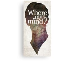"""Where is my mind?"" Two Canvas Print"