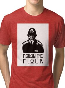 Follow The Flock Pig Tee Tri-blend T-Shirt