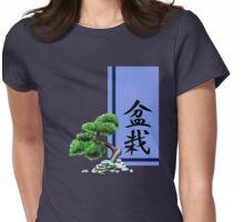 Bonsai - Kanji Series Womens Fitted T-Shirt