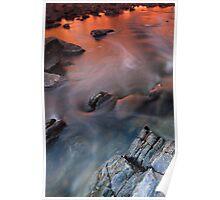 Bells rapids sunset v5 Poster