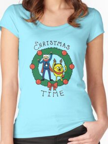 It's CHRISTMAS TIME! Women's Fitted Scoop T-Shirt