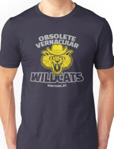 Obsolete Vernacular Wildcats (Royal Tenenbaums) T-Shirt