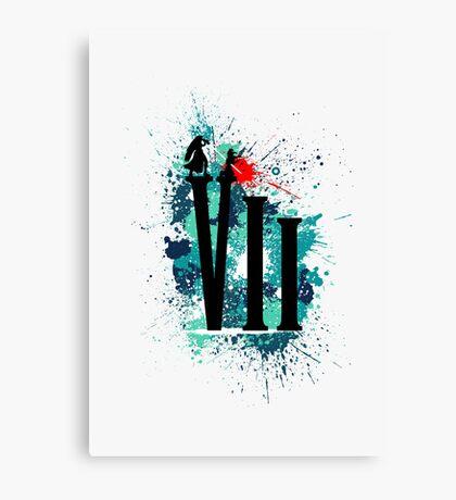Remembering Aerith (Light) Canvas Print