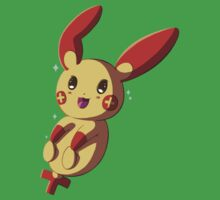 Shiny Plusle Kids Clothes