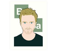 Mr. Pinkman Art Print