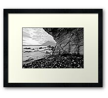 Elgol - Limestone weathering Framed Print