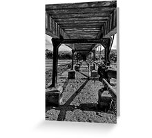 Pipes under bridge - Newhaven Greeting Card