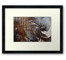 Corrosion Framed Print