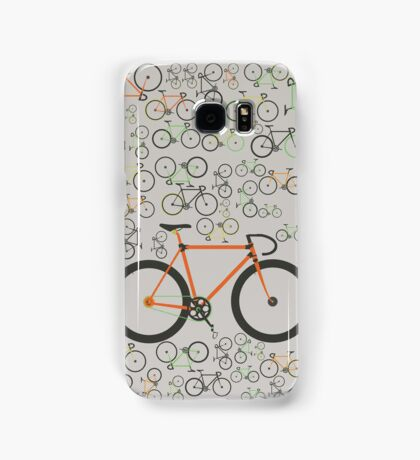 Fixed gear bikes Samsung Galaxy Case/Skin