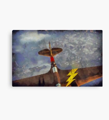 One of the Rear Gunner's Better Days Canvas Print