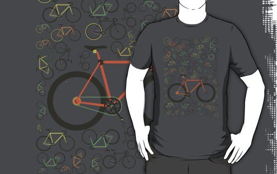 Fixed gear bikes by Andy Scullion