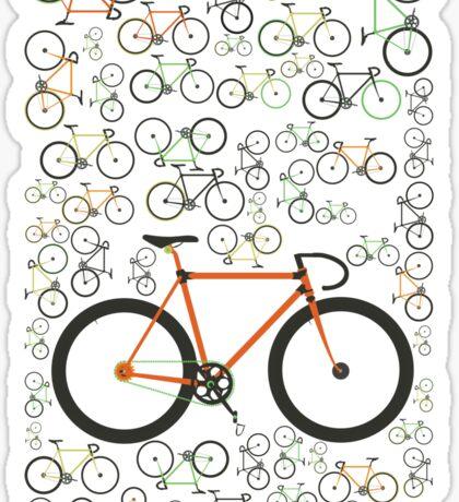 Fixed gear bikes Sticker