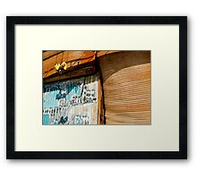 Yellow Winch Framed Print