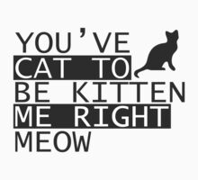 You've cat to be kitten me right meow by MegaLawlz