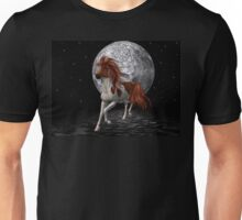Stallion by the light of the moon Unisex T-Shirt