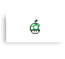 1up Apple Logo Canvas Print