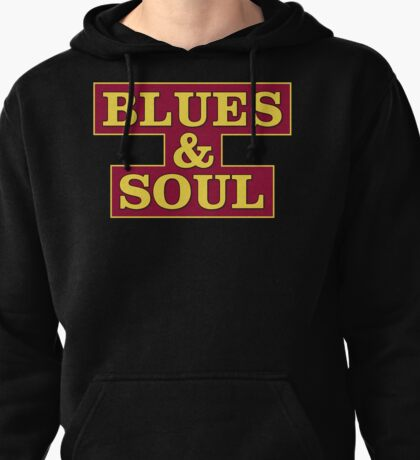 Blues & Soul Big Size Pullover Hoodie