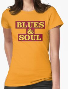 Blues & Soul Big Size Womens Fitted T-Shirt