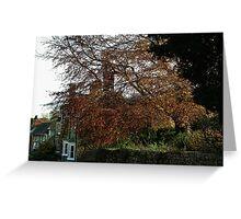 Dorset Village Greeting Card
