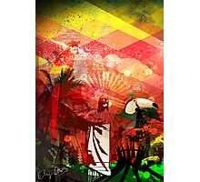 Brazil Rio Red Photographic Print