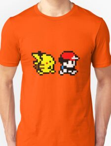 Pokemon Ash and Pikachu T-Shirt