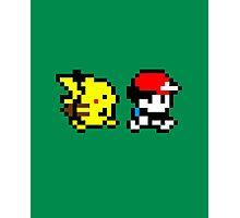Pokemon Ash and Pikachu Photographic Print