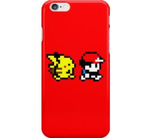 Pokemon Ash and Pikachu iPhone Case/Skin