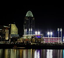 Great American Ballpark by Cathy Donohoue