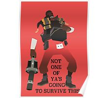 Team Fortress 2 - Demoman Poster
