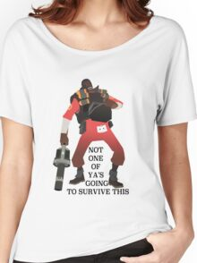 Team Fortress 2 - Demoman Women's Relaxed Fit T-Shirt