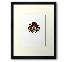 Metroid  8bit Framed Print