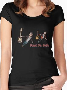 Foux Du Fafa - Flight Of The Conchords Women's Fitted Scoop T-Shirt