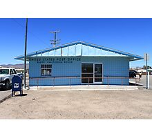 Post Office - Baker, California Photographic Print