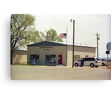 Route 66 - San Jon Post Office Canvas Print