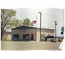 Route 66 - San Jon Post Office Poster