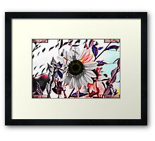 Autumn Cold Brings Bright Remembrance of the Warmth Framed Print