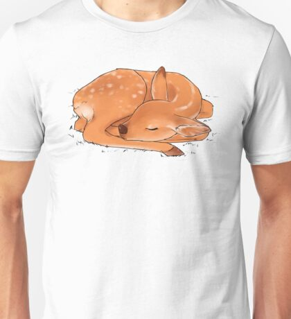 Sleeping Deer Unisex T-Shirt