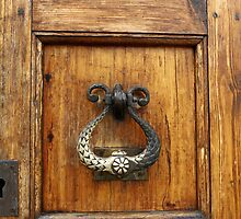 Old door knocker by mrivserg