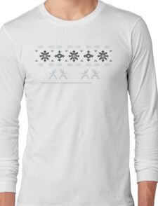 Silent Nigh-NINJA! Winter Sweater Long Sleeve T-Shirt