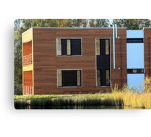 residential building Canvas Print