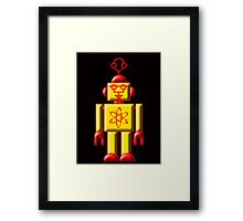 Atomic Robot Framed Print
