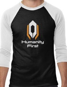 Cerberus - Humanity First Men's Baseball ¾ T-Shirt